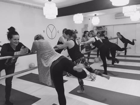 Yoga barre à l'essai Yoga Club