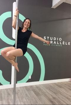 Val pole fitness studio parallèle