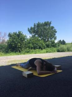 Valérie pigeon yoga yin FXV performances