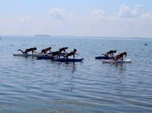 yoga kayak quadrupède