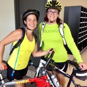 Val et Mimi vélo