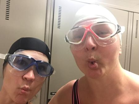 Caro et Val casque lunettes