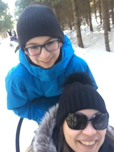 Valérie-Énergie et fils qui conduit