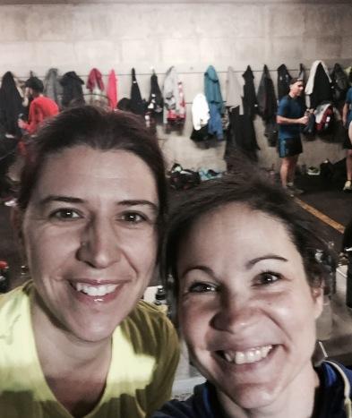 ValérieÉnergie et Isa avant la course