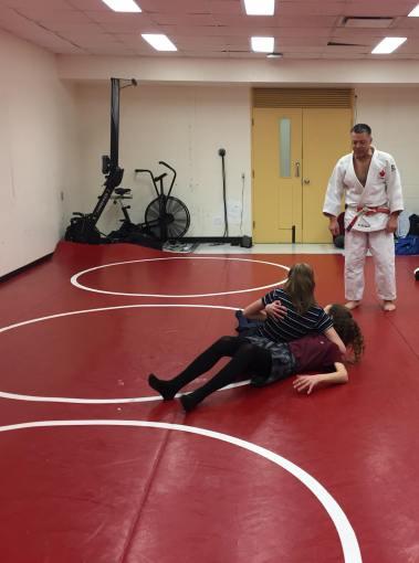 Judo 2 filles