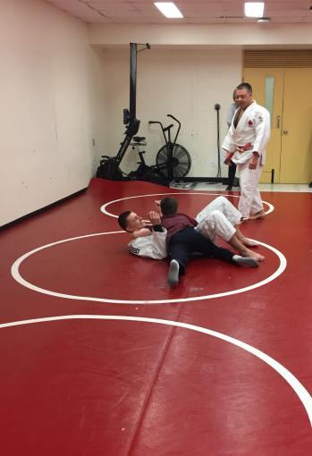 Judo élève judoka et testeur