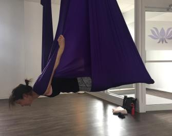 Libellule Valérie-Énergie! Yoga aérien
