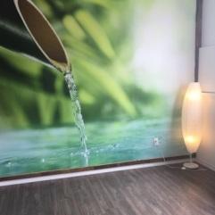 Murale Yoga aérien
