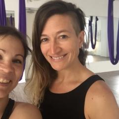 Selfie Valérie-Énergie et Karine