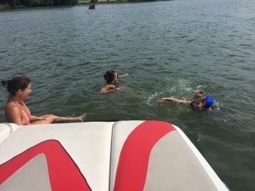 Mimi Zack à l'eau Val plate-forme