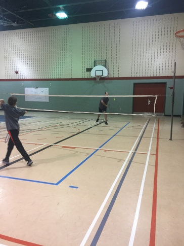 Luc et Zack badminton